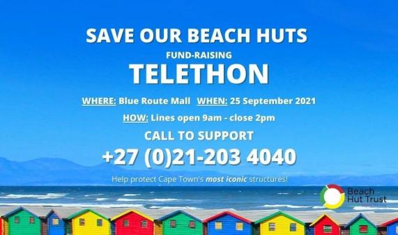 Save Our Beach Huts Telethon